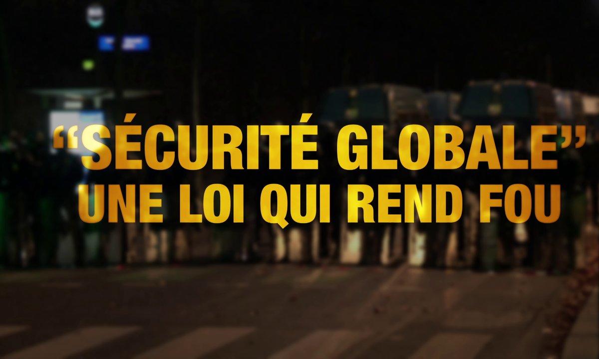 Quotidien ++ : Sécurité globale, une loi qui rend fou