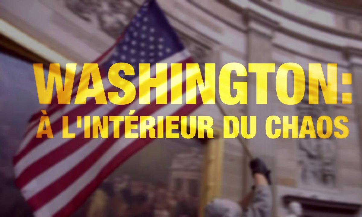 Quotidien ++: Washington, à l'intérieur du chaos