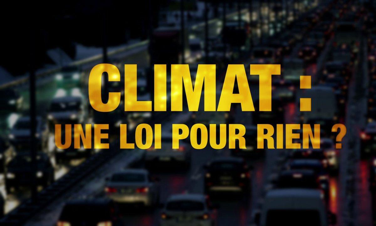 Quotidien ++ : Climat, une loi pour rien ?