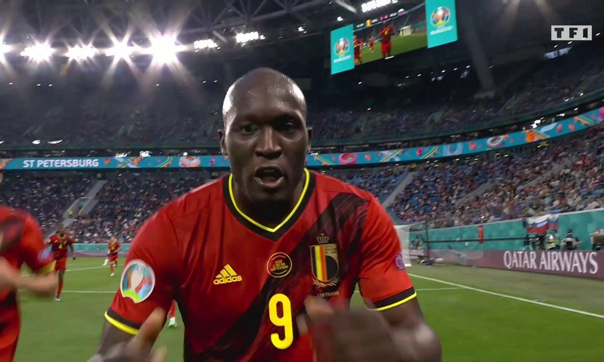 Belgique - Russie (1 - 0) : Voir le but de Lukaku et son hommage à Christian Eriksen en vidéo