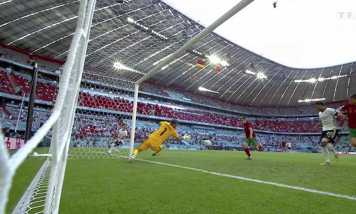 Portugal - Allemagne (1 - 2) : voir le but CSC de Raphaël Guerreiro