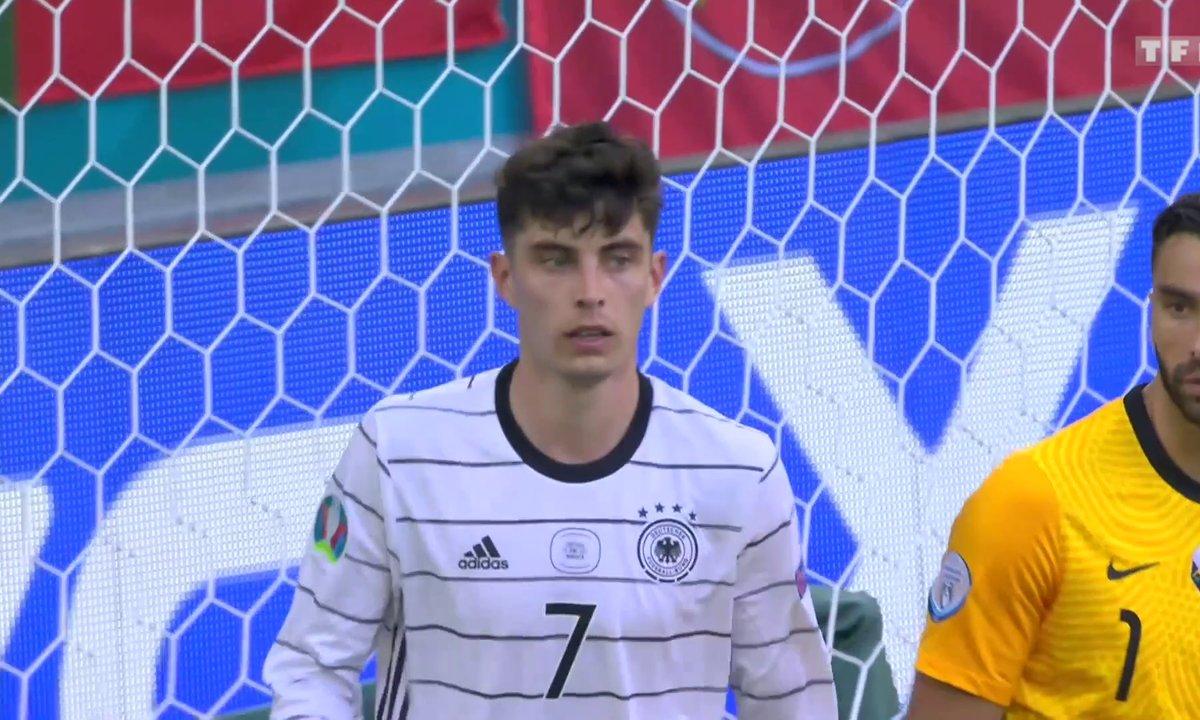 Portugal - Allemagne (1 - 3) : voir le but de Kai Havertz
