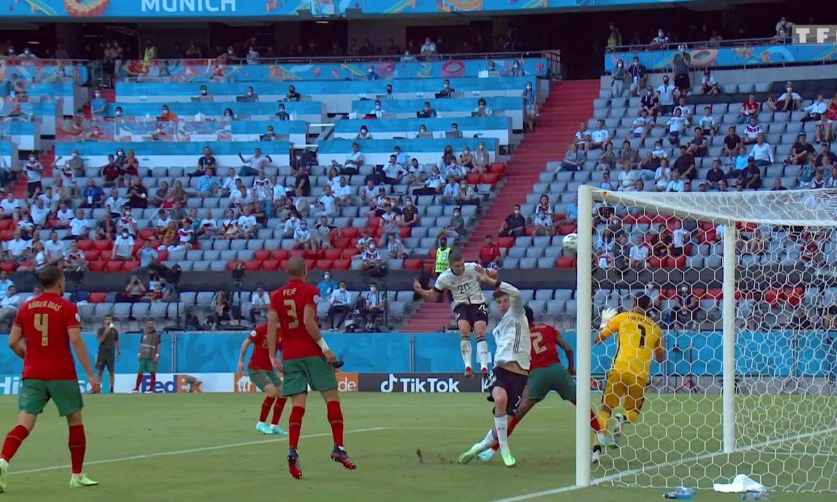 Portugal - Allemagne (1 - 4) : voir le but de Robin Gosens
