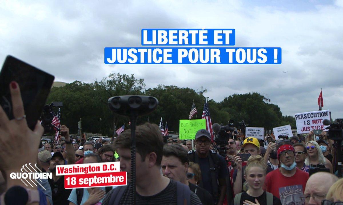 États-Unis : au coeur des manifestations de soutien aux assaillants du Capitole