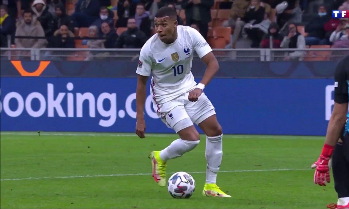 Espagne - France (1-2) : Le but de Kylian Mbappé en vidéo