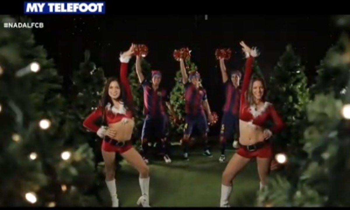 MyTELEFOOT - Les voeux du FC Barcelone pour 2015 !
