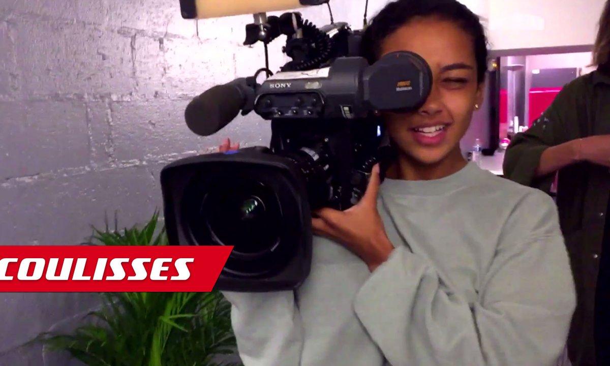 Demi-finale : Lucie s'improvise caméraman