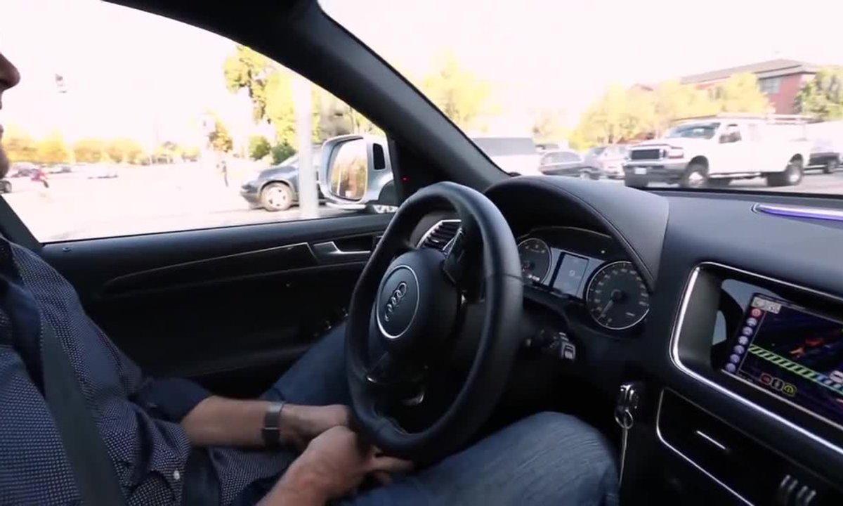 La voiture autonome par l'équipementier Delphi