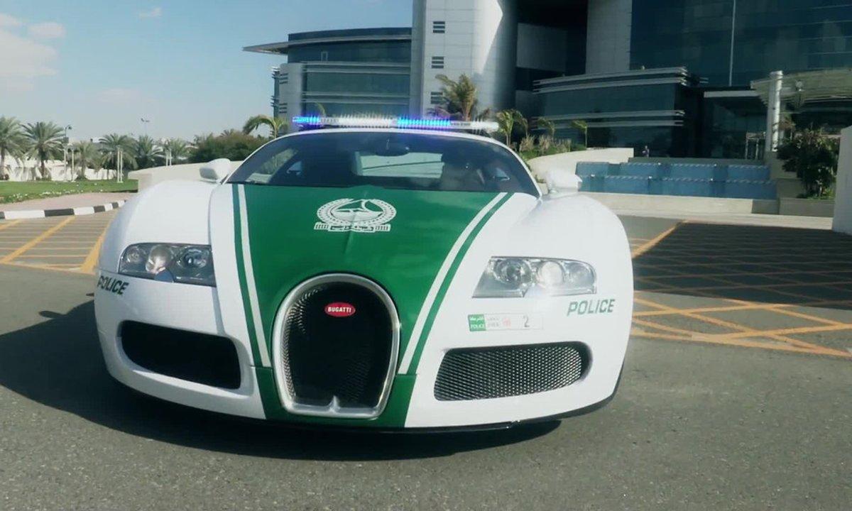 La Bugatti Veyron de la Police de Dubai