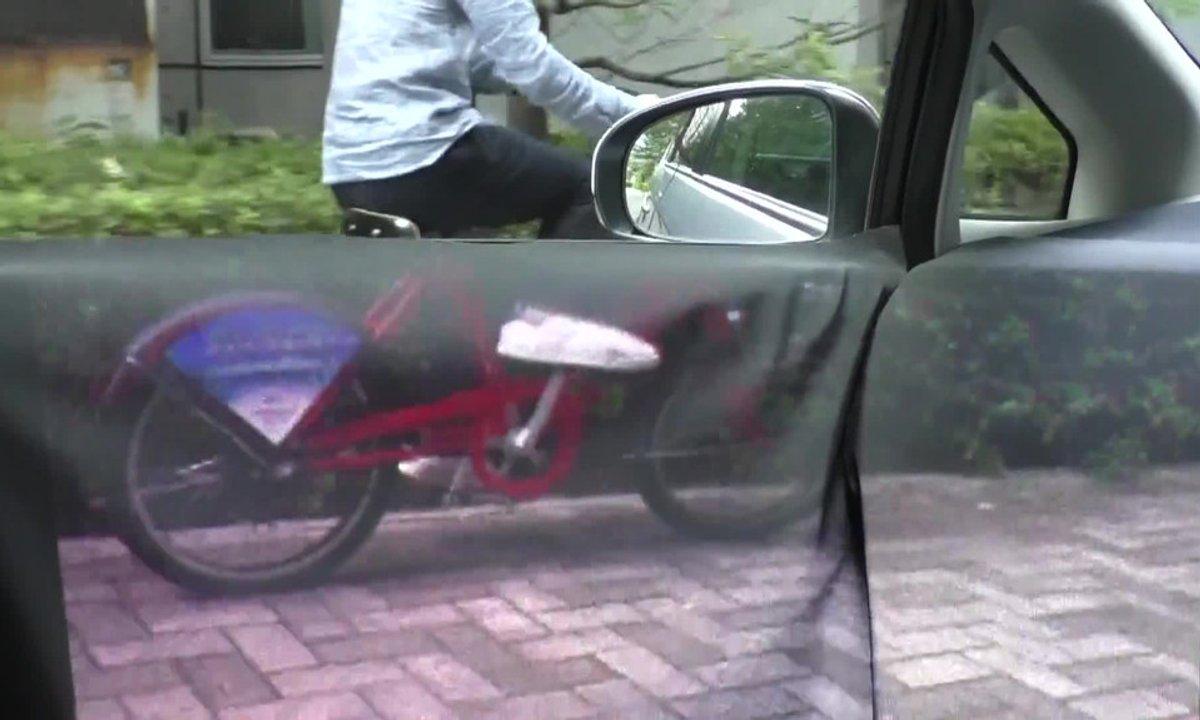 Insolite : la voitures (presque) transparente vue du conducteur