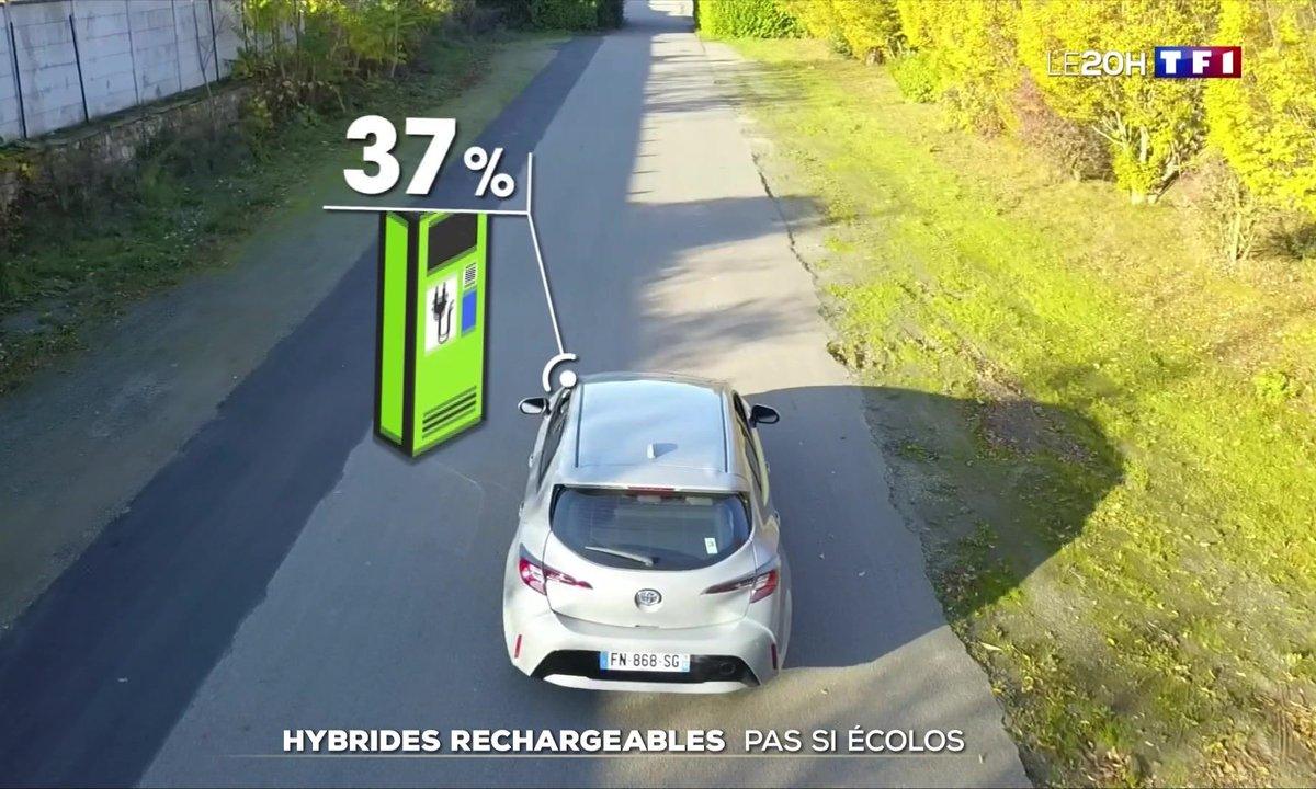 Voitures hybrides rechargeables : pas si écolos