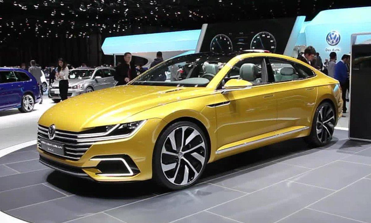 Volkswagen Sport Coupé GTE, la Passat sexy au Salon de Genève 2015
