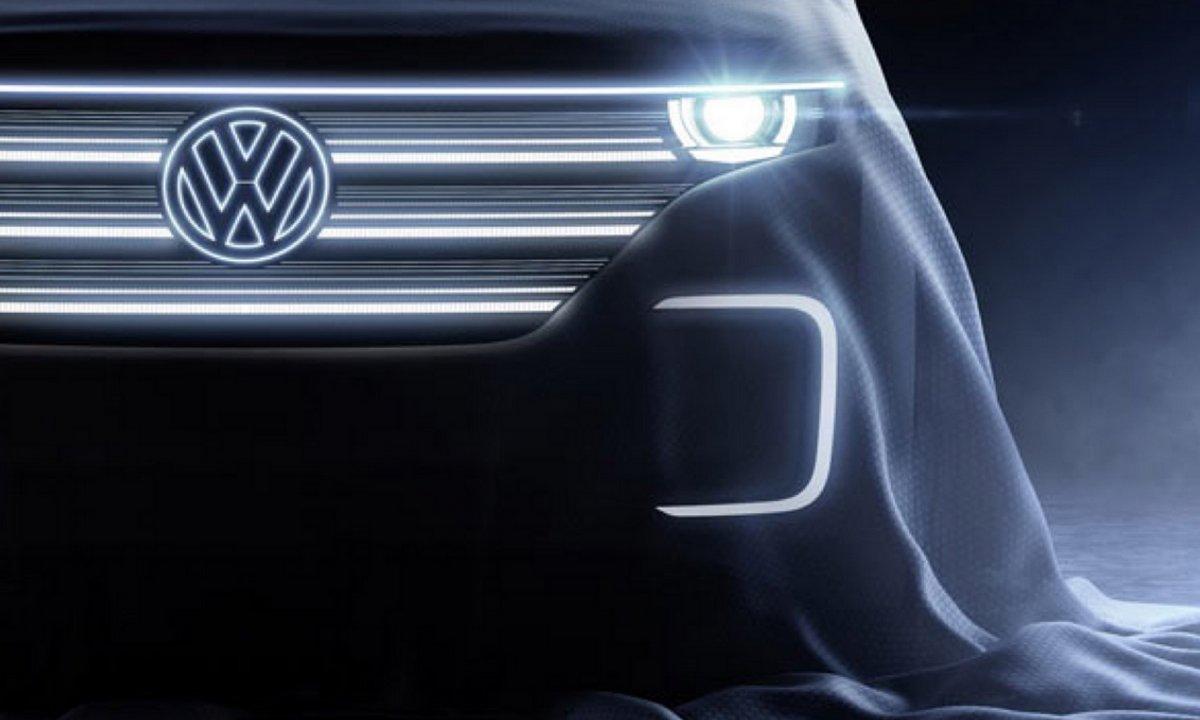 CES 2016 : teaser du Volkswagen BUDD.e