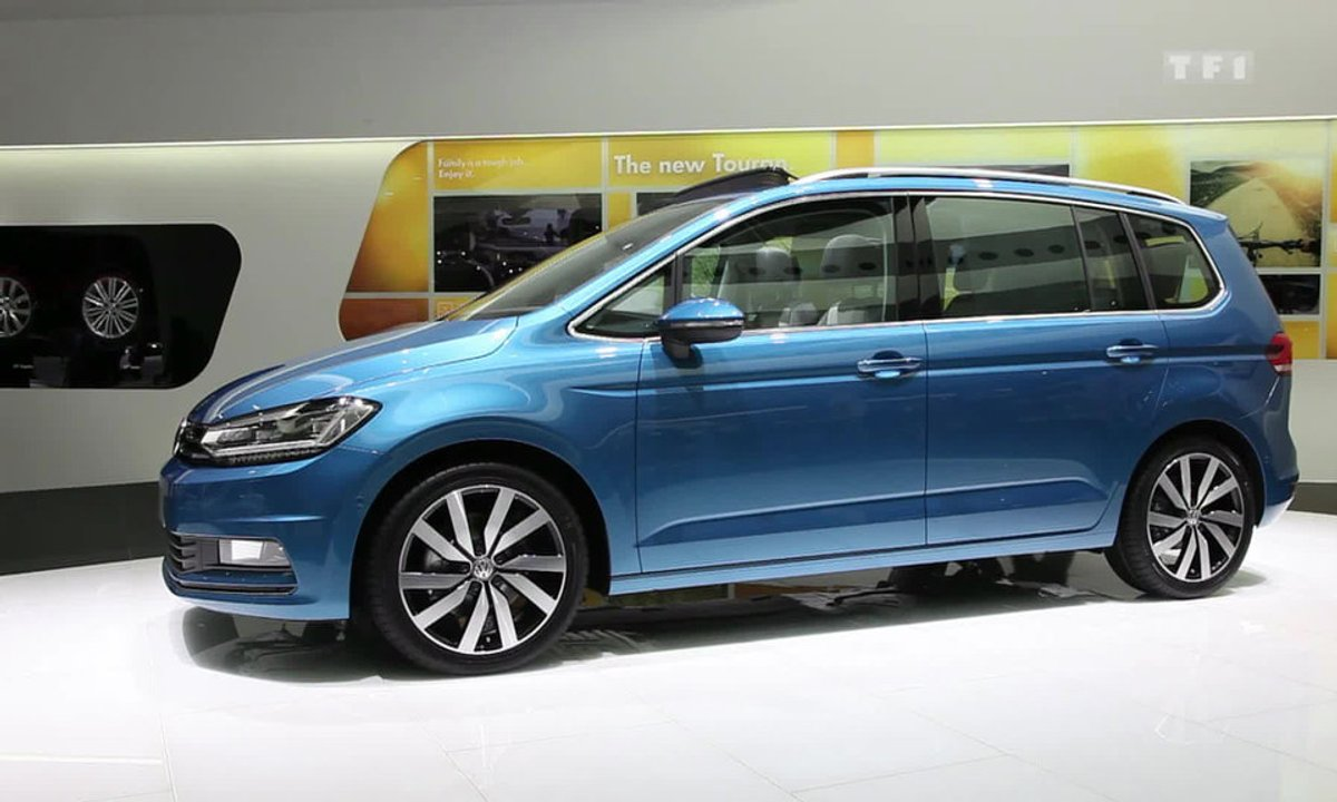 Le nouveau Volkswagen Touran au Salon de Genève 2015