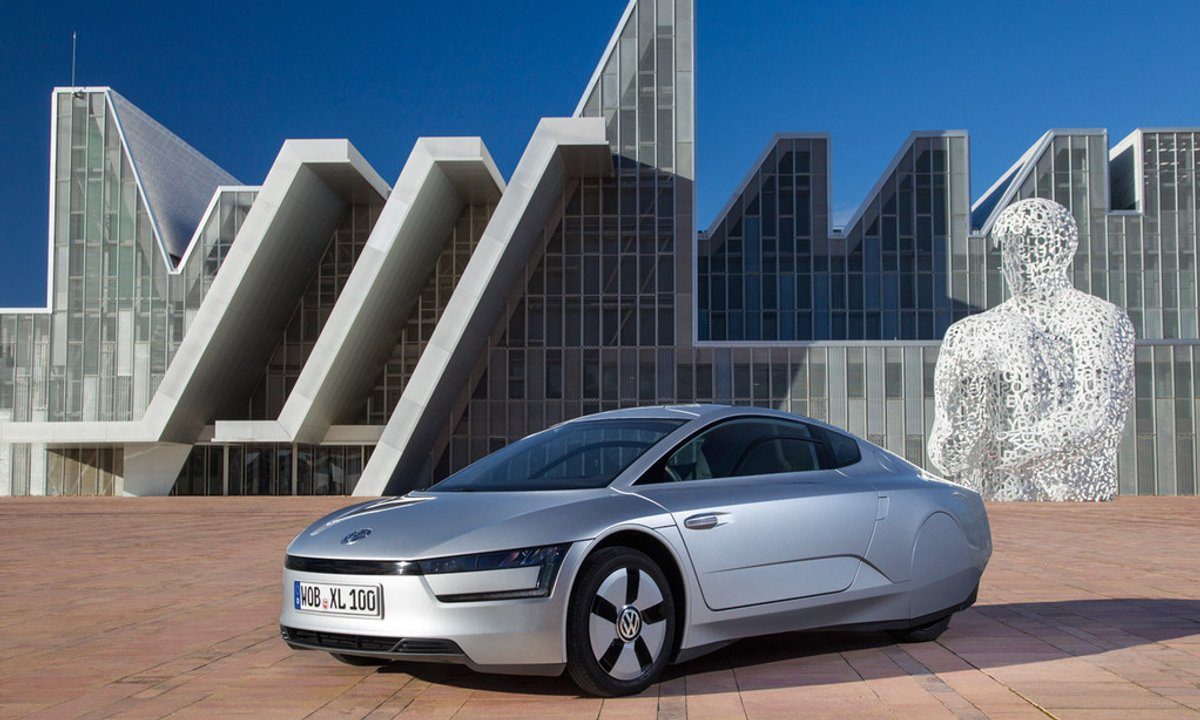 Plein phare : VW XL1, consommation 1 L/100 km