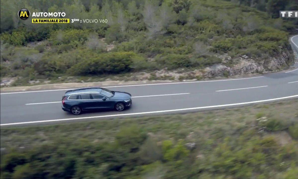 La familiale 2018 : la Volvo V60 sur la dernière marche du podium