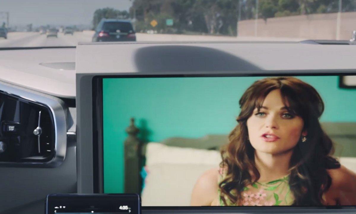 Volvo développe un système de streaming intelligent pour voiture autonome