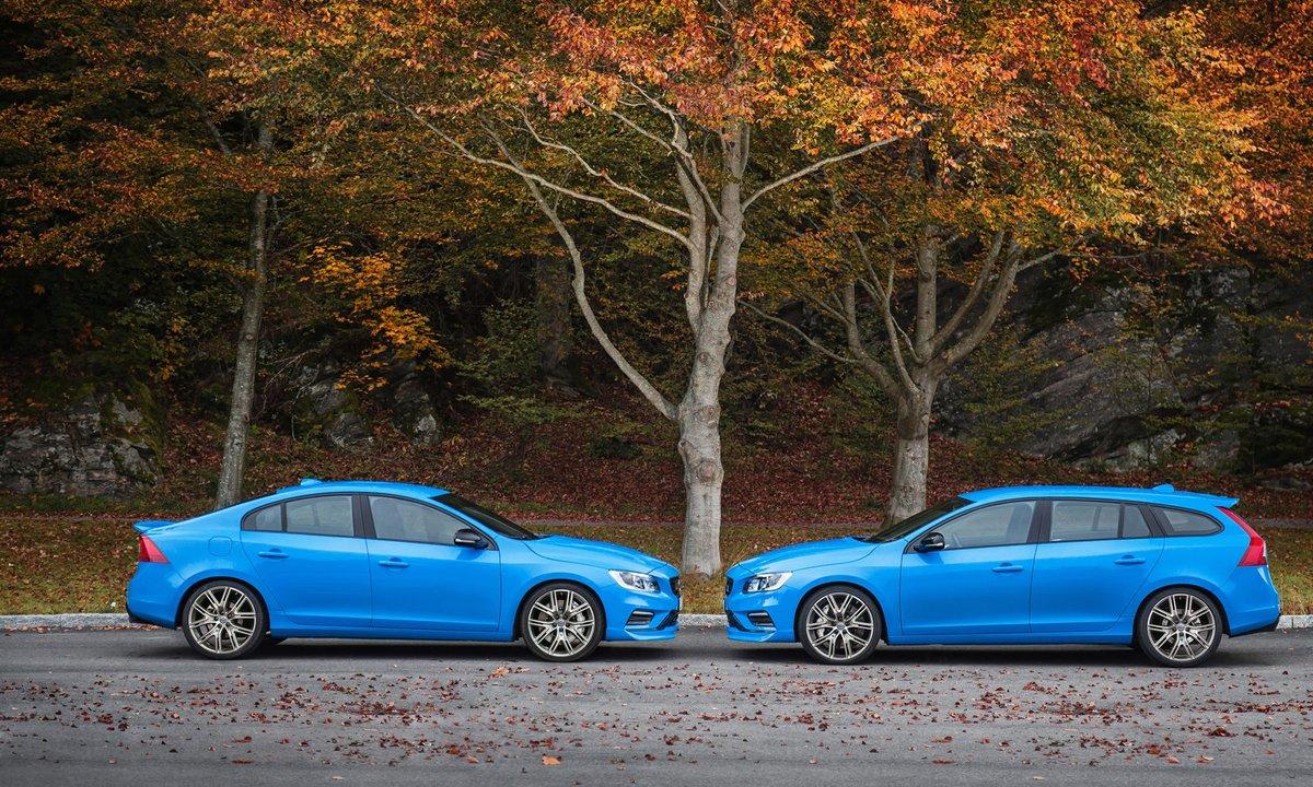 Volvo S60 et V60 Polestar : présentation officielle