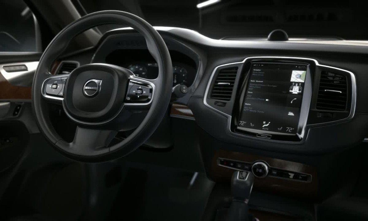 Volvo XC90 2014 : présentation officielle de l'intérieur