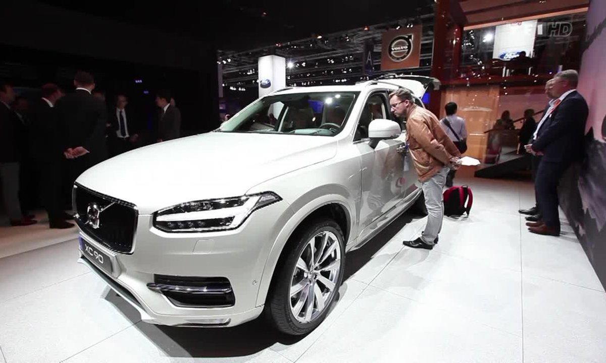 Volvo XC90, le luxe version XXL - Mondial de l'Automobile 2014