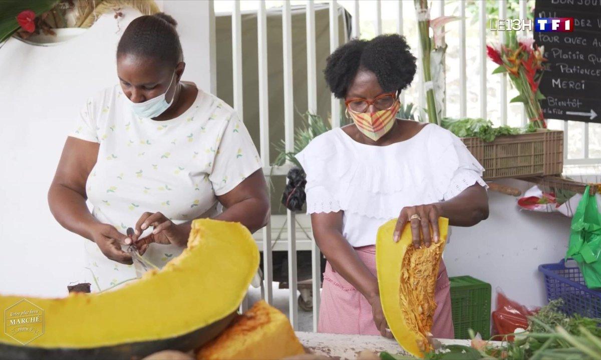 Votre plus beau marché : les Antilles-Guyane représentées par celui du François en Martinique