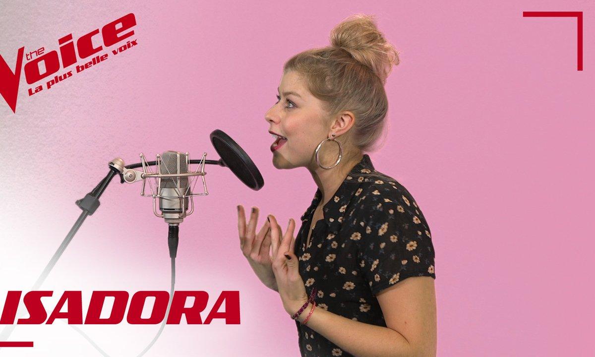 La Vox des talents : Isadora - American boy (Estelle)