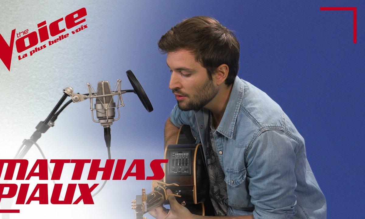La Vox des talents : Matthias Piaux - Retrograde (James Blake)