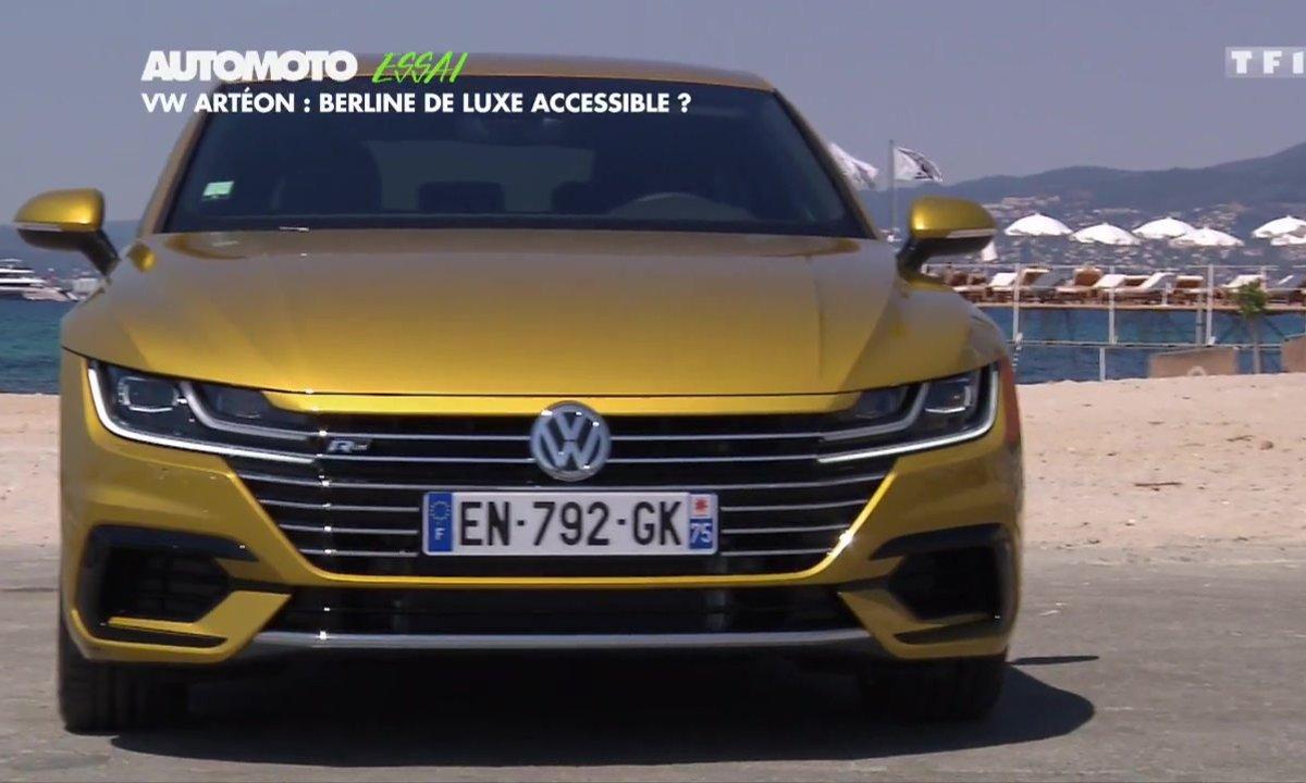 Essai - Volkswagen Arteon : berline de luxe accessible ?