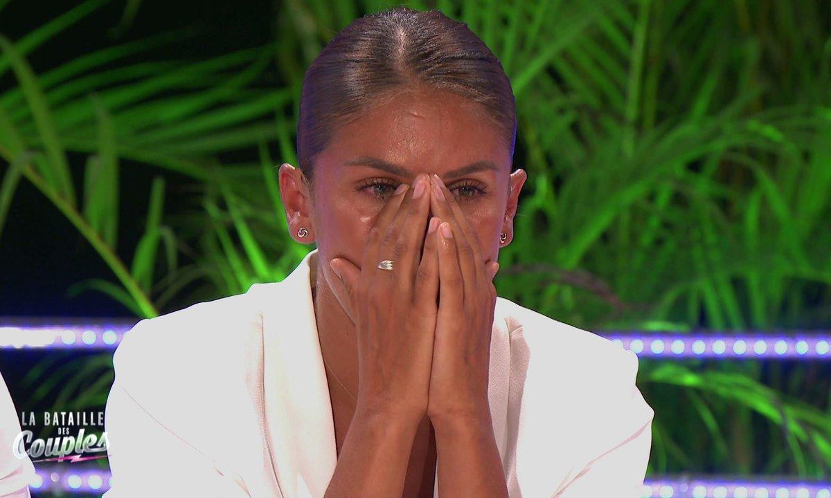 Wafa en pleurs pendant la cérémonie