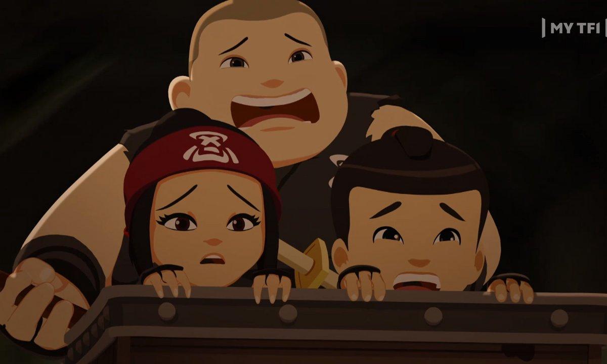 Mini Ninjas - S02 E30 - Les Wagons d'Ashida