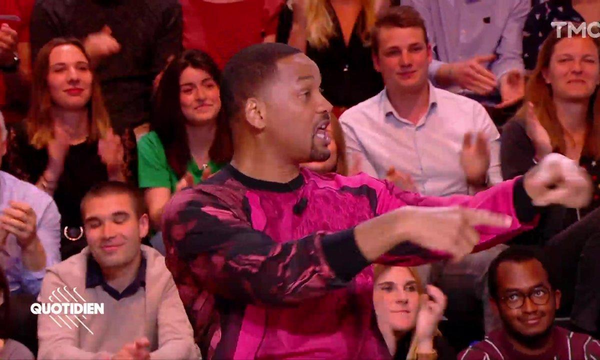 Will Smith fait le show sur le plateau de Quotidien