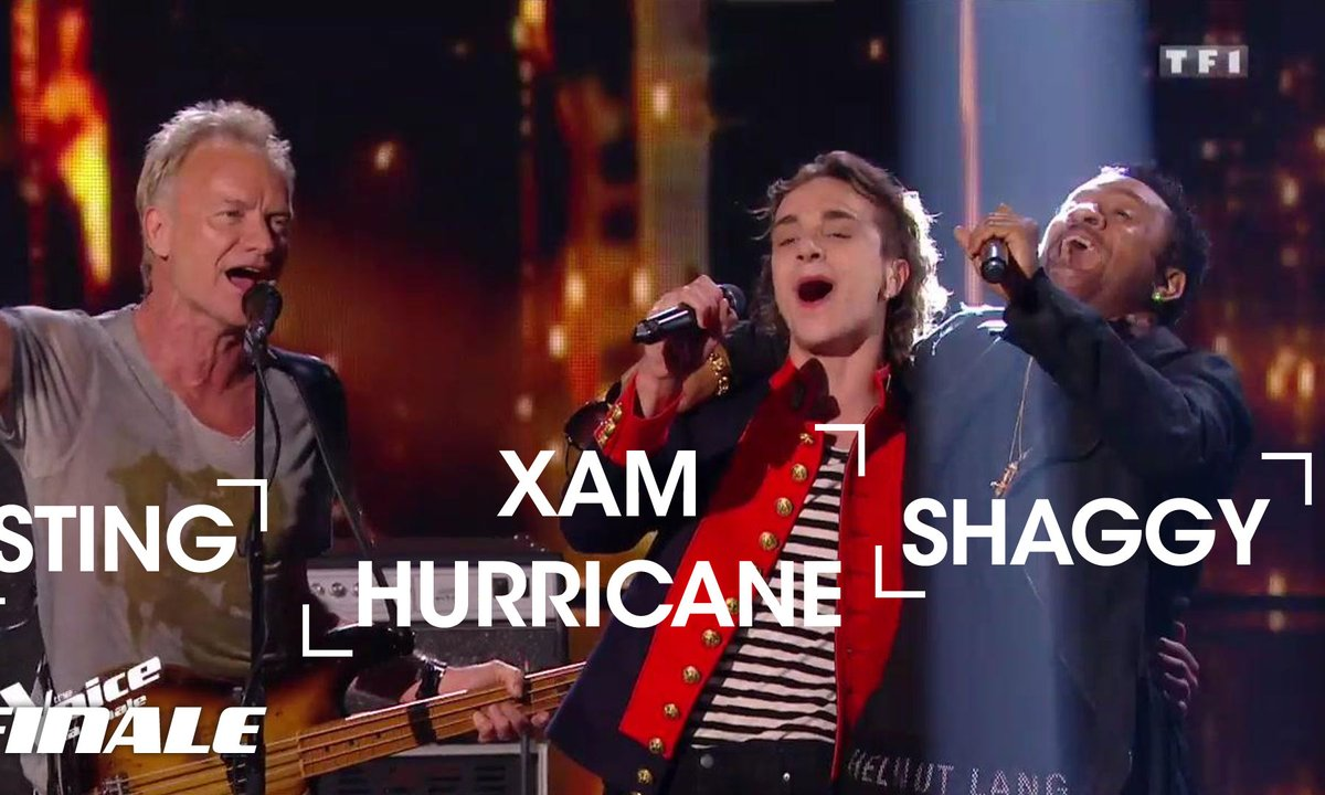 Xam Hurricane, Sting et Shaggy | Englishman in New York | Sting