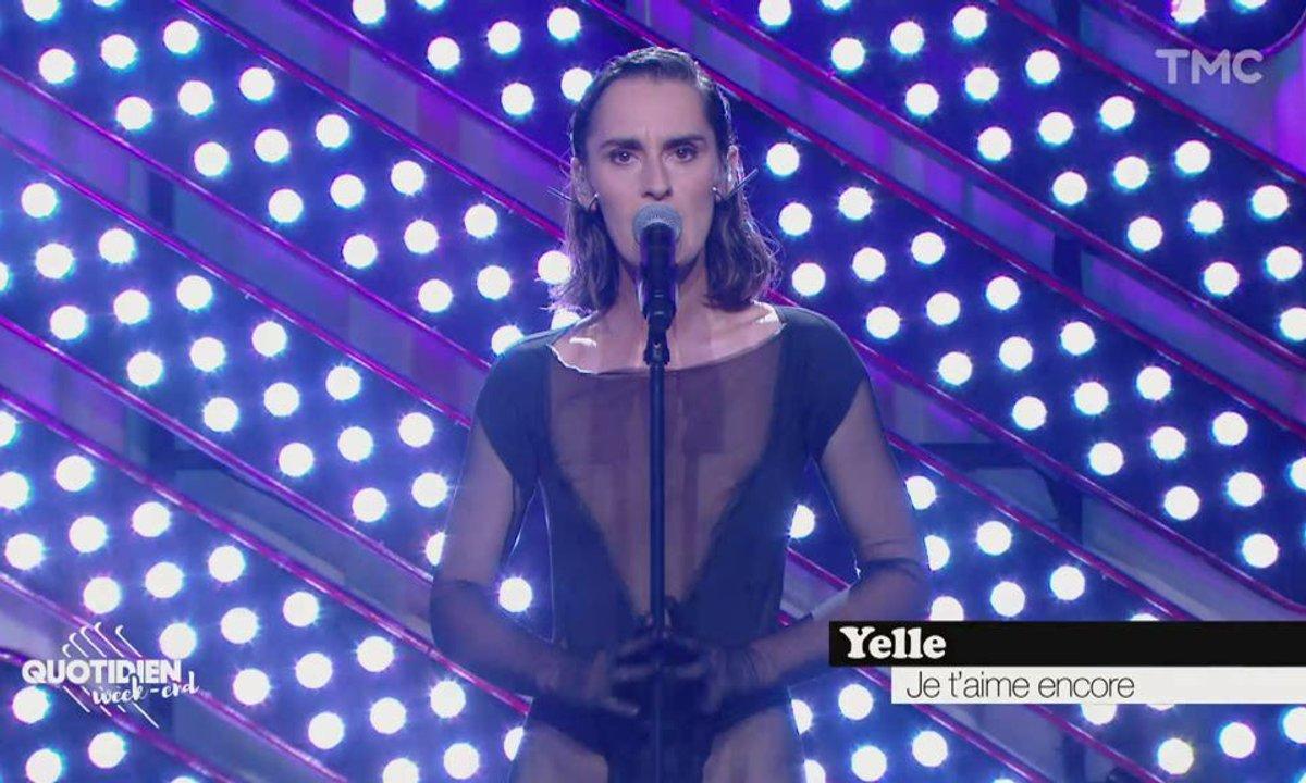 """Yelle : """"Je t'aime encore"""" en live pour Quotidien"""