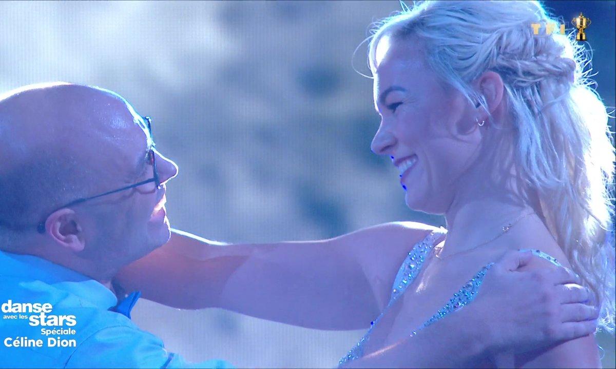 DALS - Yoann Riou et Emmanuelle Berne - Rumba - Céline Dion (D'amour ou d'amitié)