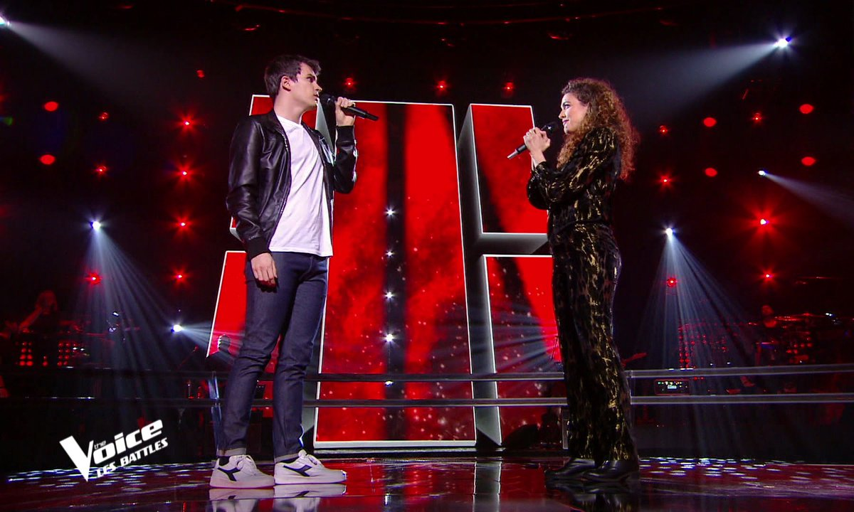 The Voice 2021 – Zacharie Dolce VS Clara Polaire chantent « Comment est ta peine » de Benjamin Biolay