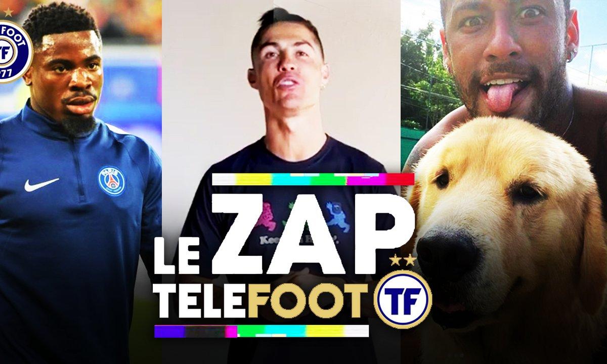 Zap Telefoot #5 : Le challenge de CR7, Aurier veut finir au PSG