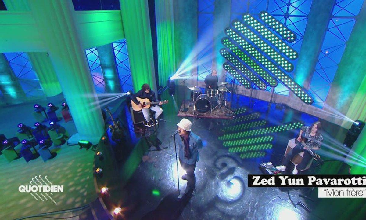"""Zed Yun Pavarotti: """"Mon frère"""" en exclusivité pour Quotidien"""