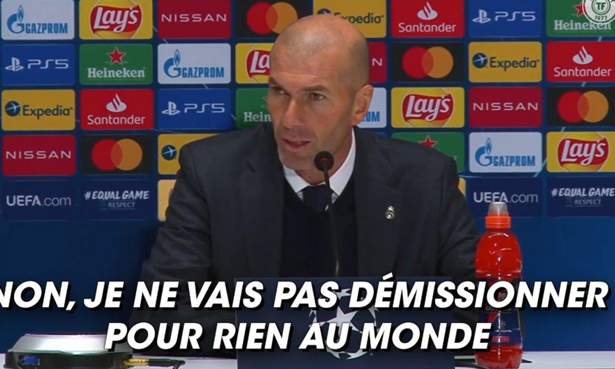 VIDEO - Les vérités de Zidane sur la crise madrilène