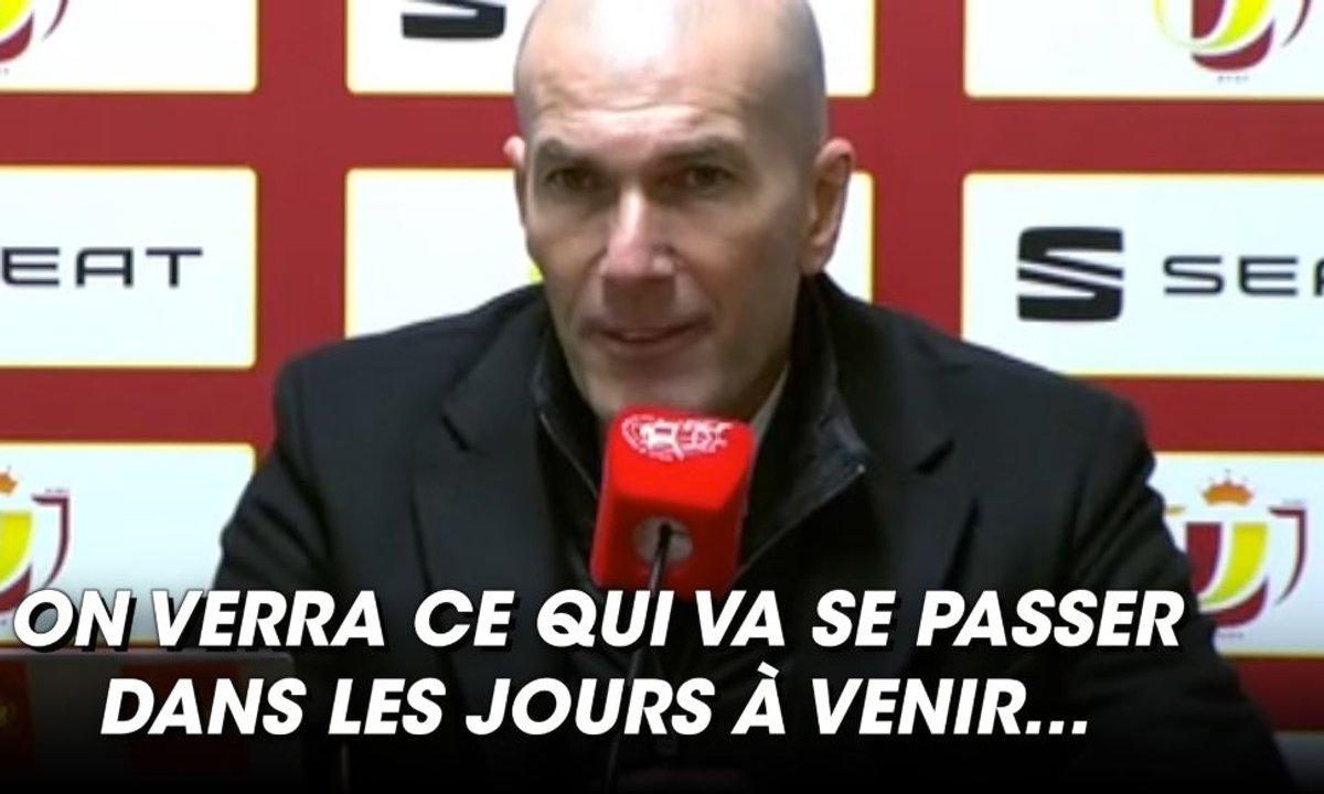VIDEO - Le futur de Zidane au Real Madrid