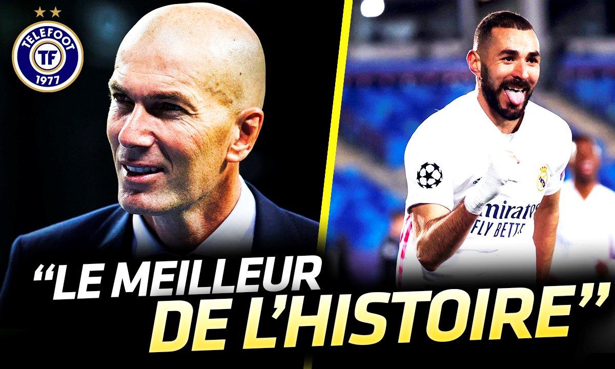 La Quotidienne du 16/12 : Pour Zidane, c'est BENZEMA le meilleur !