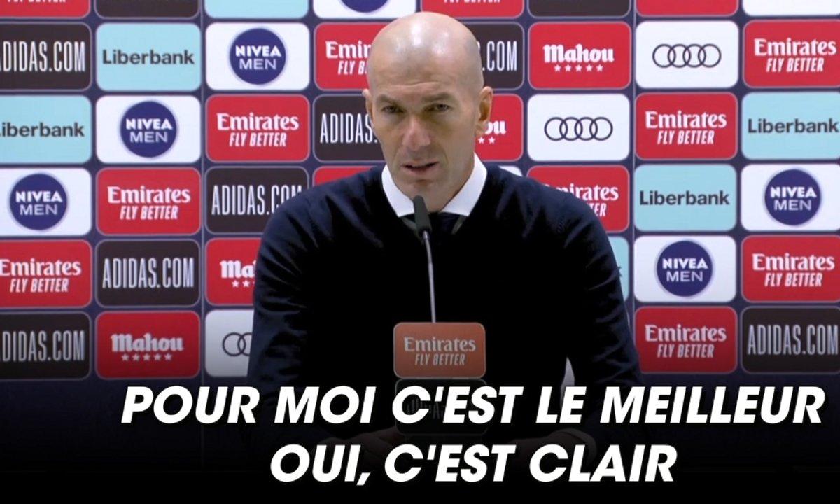 VIDEO - Les louanges de Zidane pour Benzema