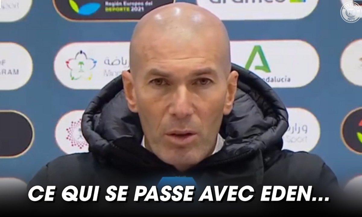 VIDEO - La mise au point de Zidane sur Hazard