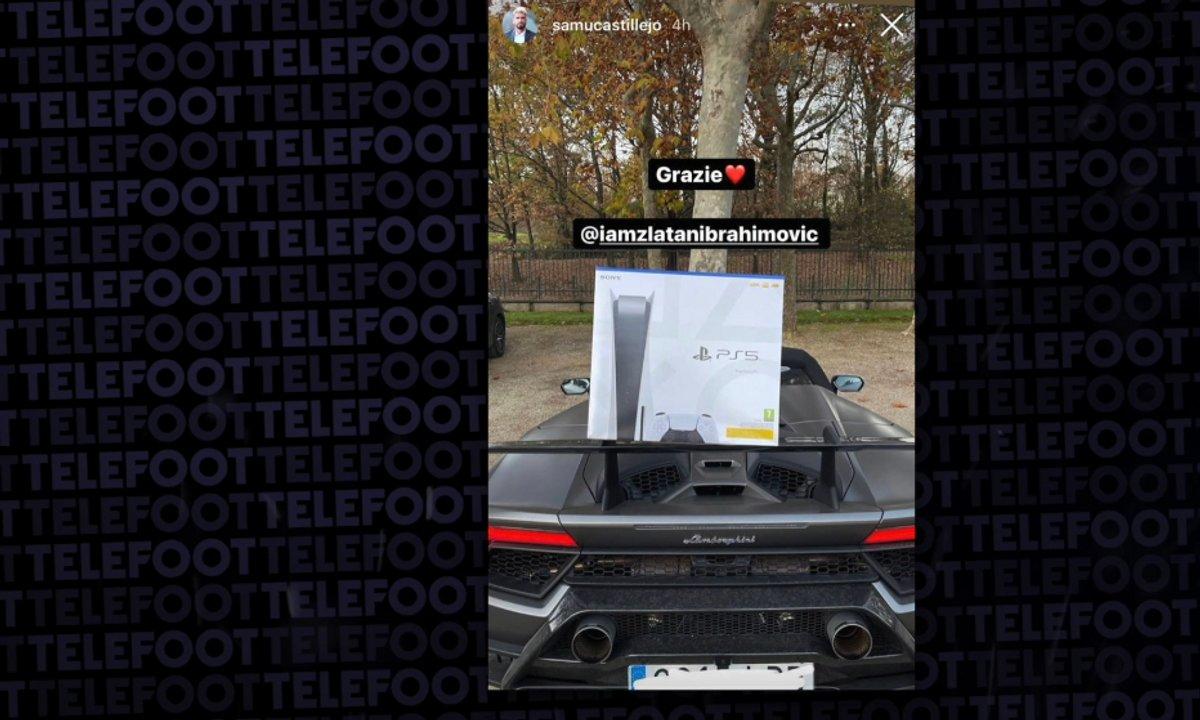 VIDEO - Zlatan offre une PS5 à tous ses coéquipiers