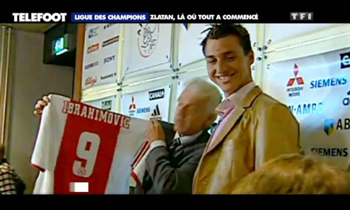 Ajax Amsterdam-PSG : Ibrahimovic, là où tout a commencé...