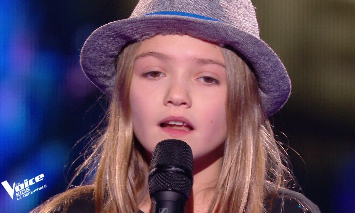 """The Voice Kids 2020 - Demi-Finale : Zoé chante """"je sais pas"""" de Céline Dion (Team Soprano)"""