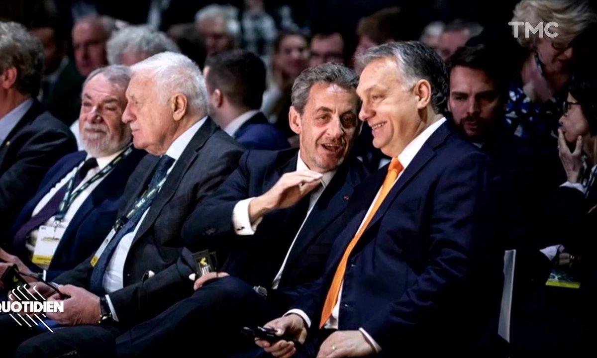 Zoom : à Budapest, Viktor Orban s'offre le soutien de Nicolas Sarkozy et Eric Zemmour