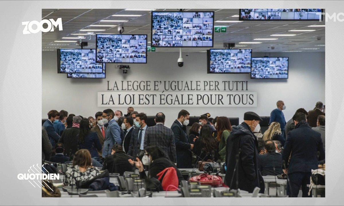 Zoom: à l'ouverture du gigantesque procès anti-mafia en Italie