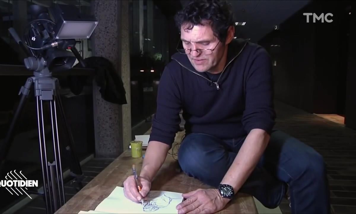 Zoom : Benoit Peyrucq, le dessinateur derrière les croquis du procès Booba Kaaris