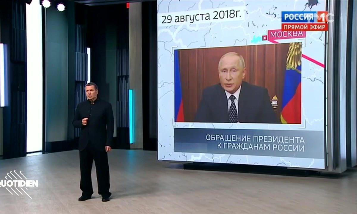 Zoom : bienvenue sur Télé Poutine