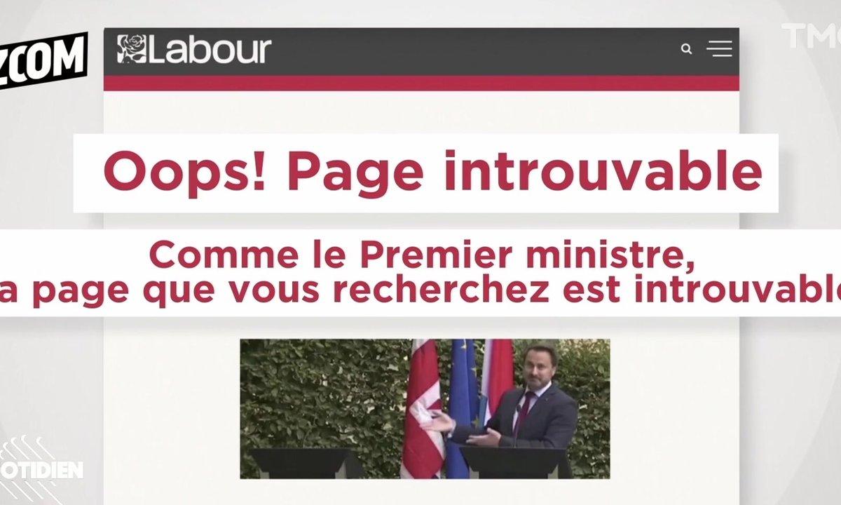Zoom : Boris Johnson plante le Premier ministre luxembourgeois